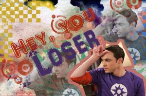 sheldon cooper wallpaper by 00cheily00