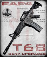T68 GEN7 Upgrades by RealActionPaintball