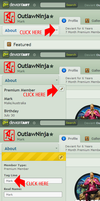 How to add your name in your Deviant art profile by OutlawNinja