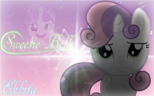 Sweetie Belle Wallpaper by EkkitaTheFilly