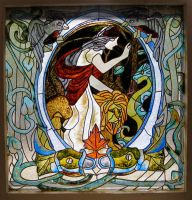 Faux Stained Glass by hever