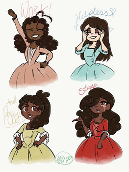 The Ladies by Mewnia