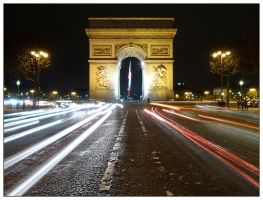 Arc de Triomphe by markvime