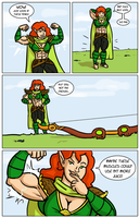 Archery contest comic page 05 by Ritualist