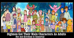 Digimon Got Their Main Characters As Adults by newsuperdannyzx