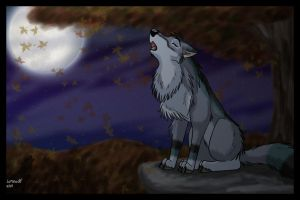 Autumn's Moon by lone-wolf-666