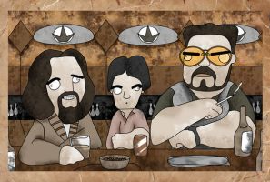 The Dude, Donny and Walter by eosvector