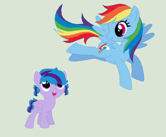 .: Rainbow Dash's Sister :. by EpiclyAwesomePrussia