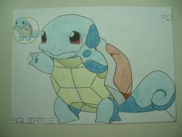 Squirtle by charlenequek