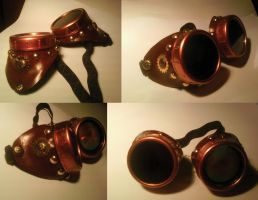 steampunk goggles by Jutchy