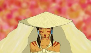 Korra: The Painted Lady by flying-soap