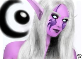 Night Elf Druid Wow by Littlemormi