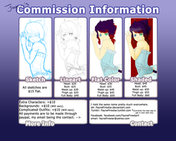 Commission Information! by FayneFirestar