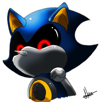 Metal Sonic by Dormin-Kanna