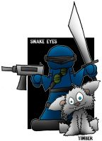 Lil' Snake Eyes by 5chmee