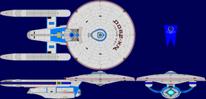 USS Galaxy Prototype Multi-View by captshade