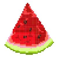 a watermelon by littlemara