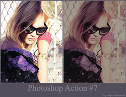 Photoshop Action 7 by PaperMarionett