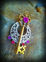 Elegant Window Fantasy Key by ArtByStarlaMoore