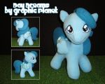 My Little Pony G1 Baby Medley Plush by GraphicPlanetDesigns
