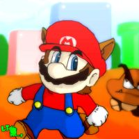Super Mario Bros. 3 World 1 by LeTourbillonEnchanT