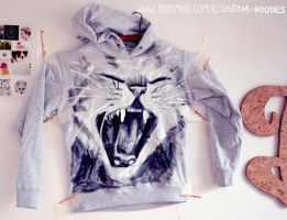 Meow Hoodie by Bobsmade