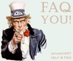 Uncle Sam says FAQ YOU by D-O-M-I-N-I-C