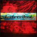 Painted Wooden Board- Life's a Beach 2 by JadasArtVision