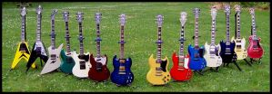 Gibson Guitar Parade by hellfirediva