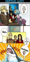 Elements comic- Meeting Lloyd by ElementJax