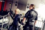 Jill Valentine  and Albert Wesker, Resident Evil 5 by DavidCosplay