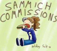 Sammich Commissions by hopelessromantic721