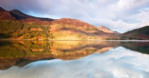 Crummock Water Reflections by taffmeister
