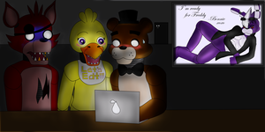 Don't Look At Your Email in Public FNaF by Dartwind