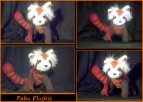 Pabu Plushie. First plushie I ever made by Your-Typical-Tyrant