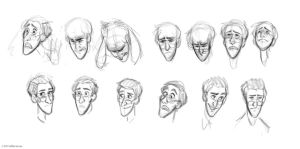 Man - expressions by lilibz