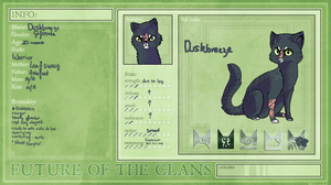 Duskbreeze | Rippleclan | Future of the Clans by zepIyn