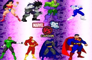 DC vs Marvel vs Capcom - DC by anubis55