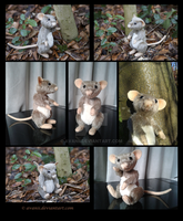 Plushie: Rudy the Rat Teddy by Avanii