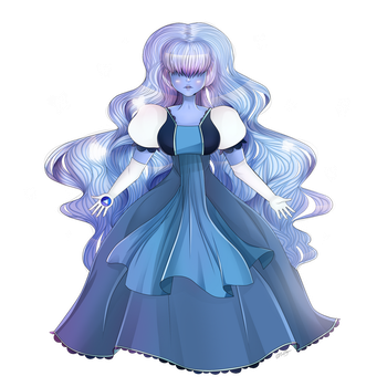 Sapphire by colorfulkitten