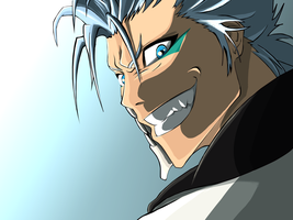 Grimmjow - COLOURED / SHADED by SickBites