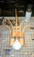 Leather Jester Mask by ReneeRutherford