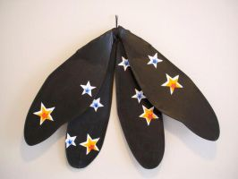 Starfall Adult size Wings by KimsButterflyGarden