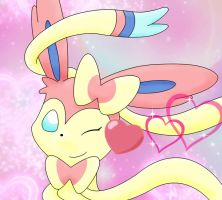 Sylveon Used Attract by asdfg21