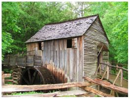 Cable Mill - Cades Cove by CrystalMarineGallery