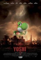 Yoshi for Godzilla 2014 by ShariKia