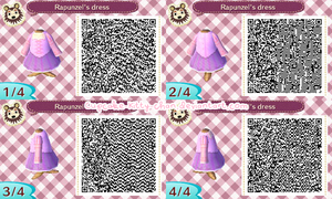 QR Code: Rapunzel's Dress by Cupcake-Kitty-chan