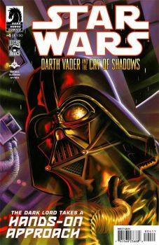 Darth Vader and the Cry of Shadows #4 by felipemassafera