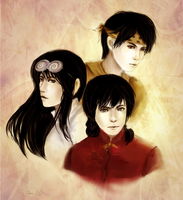 Ranma 1:2 Boys by AStudyInScarlet