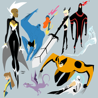Xmen by fooshigi